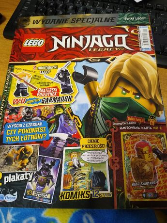Karta Lego Ninjago Kai z Shintaro limitowana gazetka specjalna