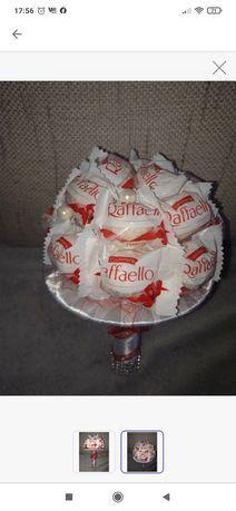 Słodki bukiet Rafaello