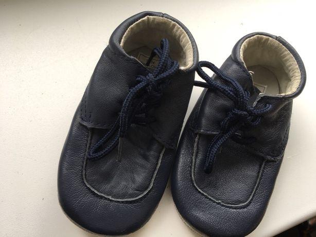 Buty dziecięce skórzane
