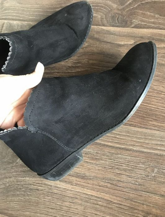 Замшевые ботинки Крыжановка - изображение 1