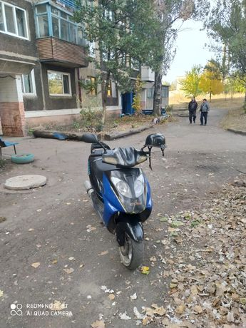 Продам скутер Шторм 80куб