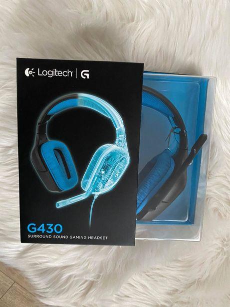 Logitech G430 słuchawki przewodowe nauszne