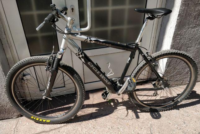 Велосипед б/у из Германии алюминиевый велик алюминий горный гірський