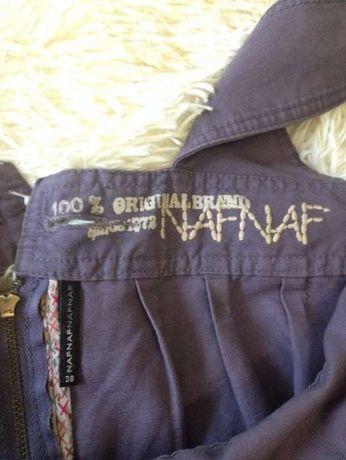 Стильная джинсовая юбка - сарафан NAF NAF, р. 38
