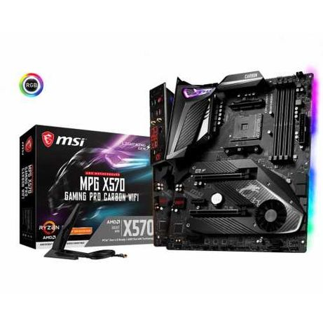 MSI MPG X570 Gaming Pro Carbon WiFi (AM4, Ryzen X470, B450, B550)