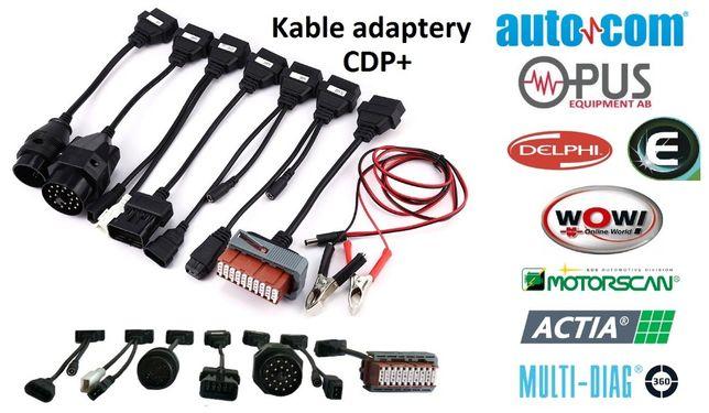 Kable adaptery do AutoCom DELPHI WOW osobowych obd2 obd przejsciowki