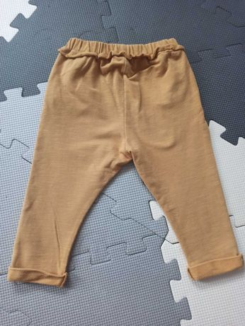 Spodnie dresowe z falbanką Zara