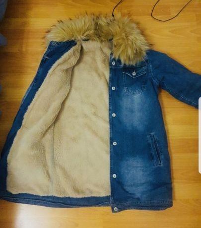 Куртка джинсовая. Джинсовка. С-М