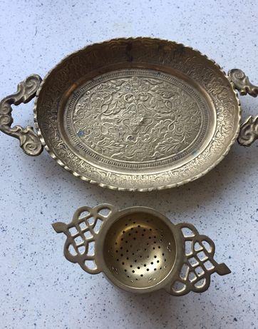 Медная посуда, кухонная утварь