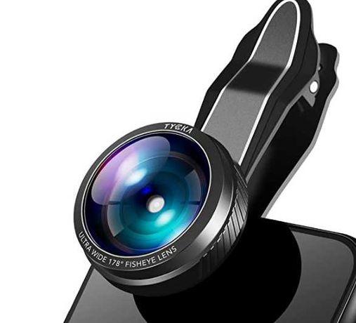 TYCKA Ultra szerokokątny obiektyw aparatu do telefonu komórkowego,