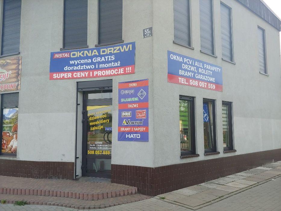 Białe okno PCV 100x100 10 LAT GWARANCJI !! Sosnowiec - image 1