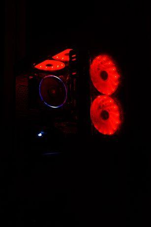 ТОП Игровой пк nvidia geforce gtx 1050 ti AM Ryzen Intel core i5