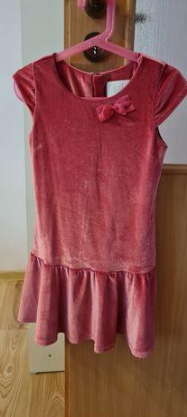 Zamszowa sukienka Cool Club rozmiar 128