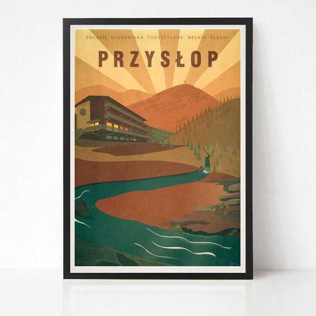 Plakat Przysłop Barania Góra - Polskie Schroniska Turystyczne Beskidy