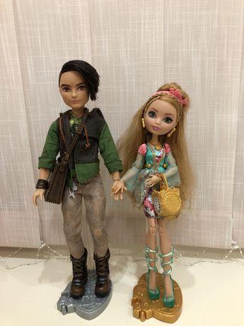 куклы Ever After Hight Эшли и Хантер