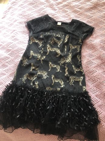 Коктейльное платье Mademoiselle Ambre Франция