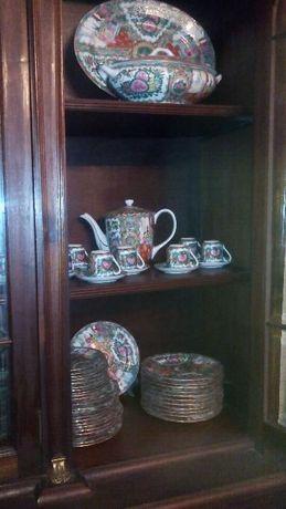 Serviço Jantar,Chá,Café 155 peças Porcelana chinesa sem uso