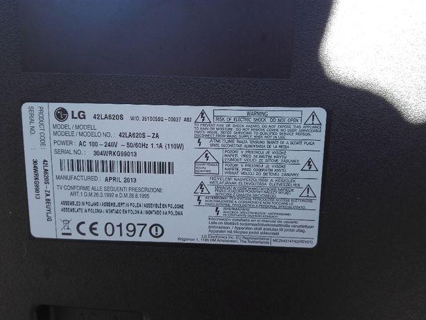LG 42LA620S (para peças) EAX6490.5401 , etc.