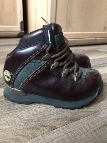 Кожаные ботинки Timberland р.24