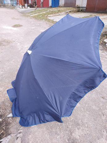Пляжный  садовый  зонт