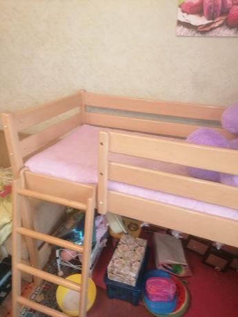 Кроватка детская 165*75*125