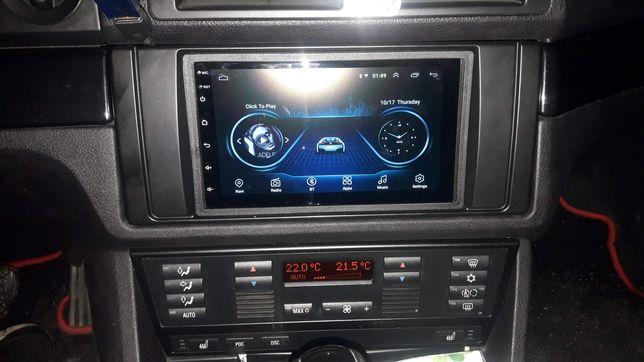Radio BMW e39 e38 Android 8.1 Bluetooth USB GPS RAMKA W CENIE!