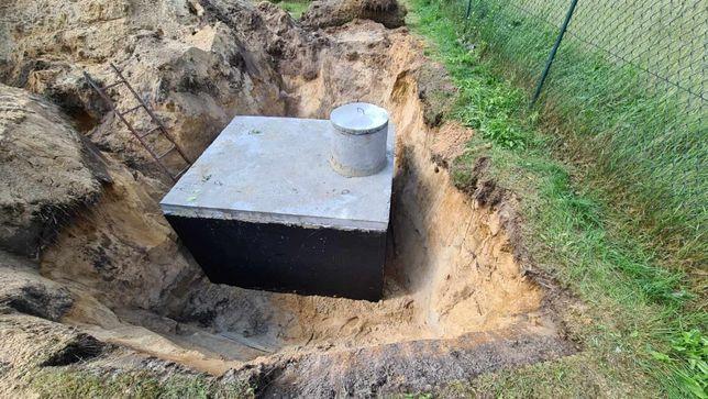 Szambo betonowe 8m3 Zbiornik na deszczówkę Turek Montaż Gwarancja