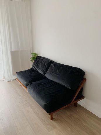 Modernistyczna Kanapa Sofa Ławka Lite Drewno