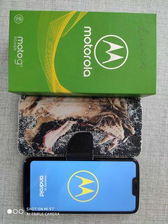 Sprzedam telefon Motorola G7 Power na gwarancji stan idealny