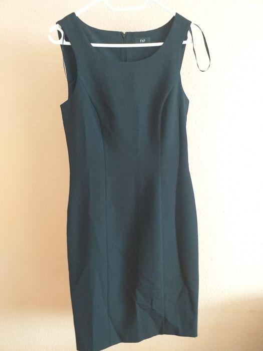 Czarna prosta sukienka Lębork - image 1