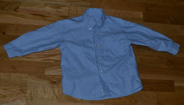 Детская рубашка на мальчика MARK & SPENCER на 3-4 года бу