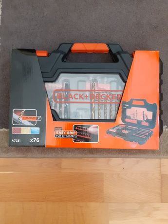 Zestaw wierteł i bitów BLACK&DECKER A7231