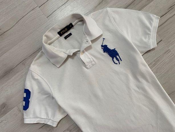 Ralph Lauren_Polo_Big Logo_Custom Fit_Koszulka Polo Polówka Meska_Roz.