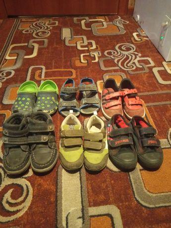 Детская обувь за все 6 пар 100 грн
