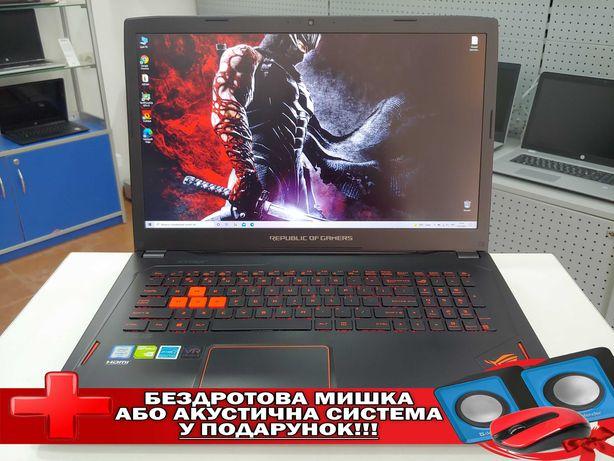"""Asus ROG GL702/17.3""""FullHD IPS/i7-6700HQ/16GB/SSD128GB+1TB/GTX1060 6GB"""