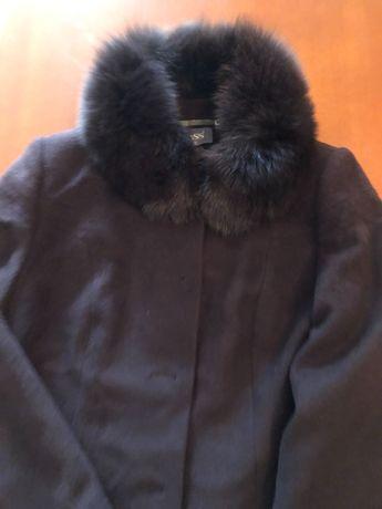 Płaszcz brązowy ocieplany