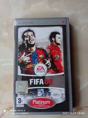 PSP.      FIFA 08