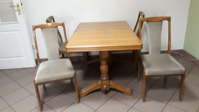 Stół i 4 krzesła