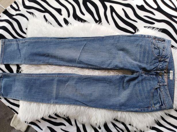 Jeansowe spodnie roz 38