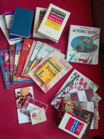 Poradniki, słowniki, książki