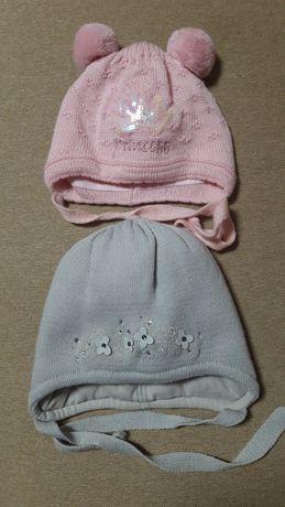 Шапки на девочку/ зимняя шапка / демисезонная шапка
