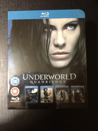 Underworld Quadrilogy - blu-ray dvd box set - selado