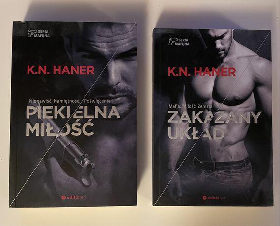 Zestaw książek K.N Haner
