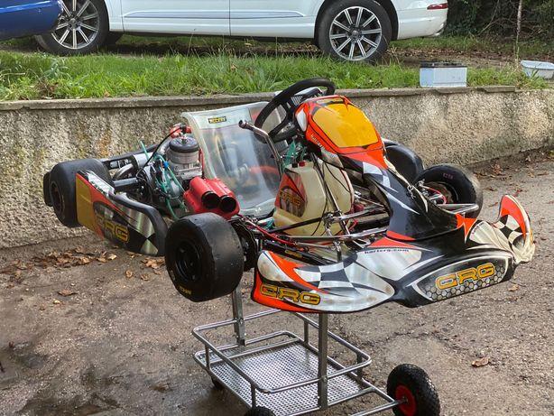 GoKart CRG Maxter 50KM shifer biegowy biegi karting spalinowy Mocny!