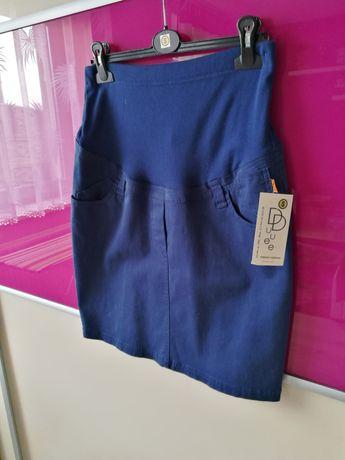 NOWA spódnica ciążowa granatowa z metką S