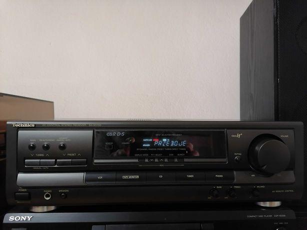 Amplituner Technics SA-EX100,ładny
