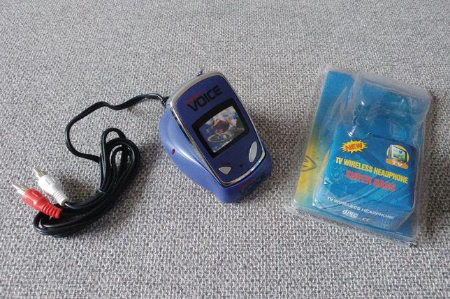 Nadajnik i odbiornik radiowy, 2w1 transmiter sygnału audio z TV radia