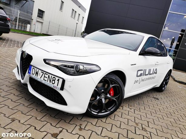 Alfa Romeo Giulia Veloce TI 280 KM Q4 napęd na 4 koła AT8 GAM...