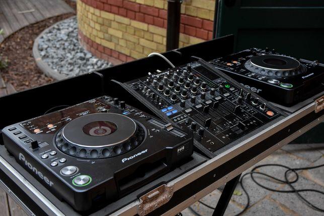 Zestaw DJ Pioneer 2x CDJ 1000mk3 + DJM 800