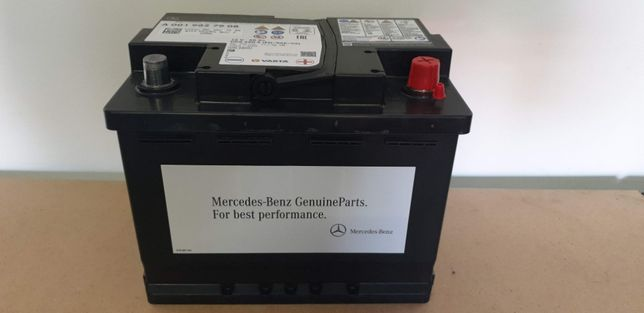 Akumulator Mercedes 60Ah 660A agm, Nowy, Oryginalny, system start-stop